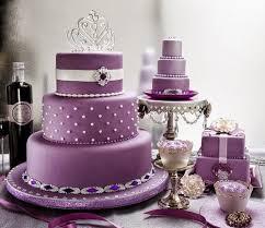 Purple And White Wedding Beautiful Bridal Purple And White Wedding Cakes