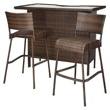 Patio Bar Tables Brilliant Patio Bar Sets Intended For Outdoor Height Ultimate