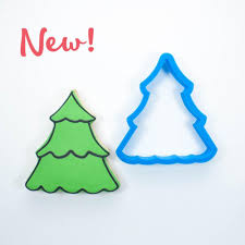 scalloped christmas tree cookie cutter frosted co