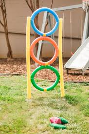 10 ways to turn pool noodles into almost free backyard kids u0027 games