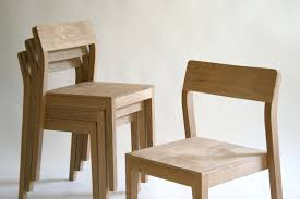 Made Dining Chairs Made Stackable Wood Dining Chair By Kapel Designs