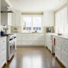 Sink Kitchen Cabinets Crisp White Kitchen Cabinets Design Ideas