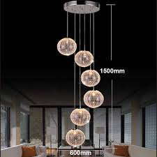 Artistic Chandelier Buy Rotation Staircase Pendant Lights Artistic Nordic Duplex