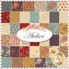 atelier by 3 for moda fabrics charm pack atelier by 3