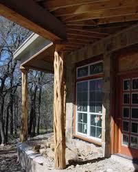 haynes cedar company cedar porch posts power washed