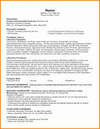 Resume Computer Skills List Example by 7 Resume Skills List Example Forklift Resume
