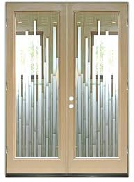 Exterior Door Inserts Contemporary Glass Doors Exterior Pretty Exterior Door Inserts On
