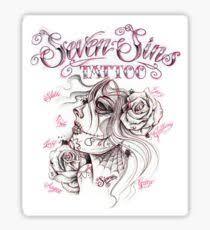 seven sins tattoo stickers redbubble
