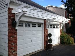 garage door trellis or arbors a frame over garagearbor pergola