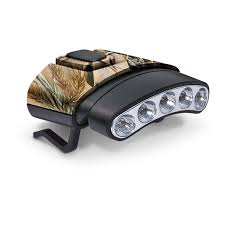 cyclops 45 degree tilt clip lights 2 pack 1 black 1 camo