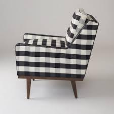 Gingham Armchair Jack Chair Windowpane Plaid Schoolhouse Electric