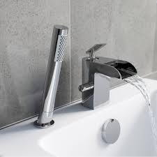 mode reinosa waterfall bath shower mixer tap victoriaplum com reinosa waterfall bath shower mixer