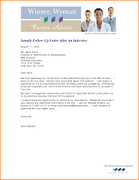 14 follow up interview letter letterhead template sample