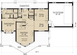 log home open floor plans wood flooring ideas