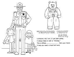 say no to drugs coloring pages mcgruff winners say no to drugs