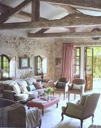 French Country House Interior - glimpse of dinner french country cottage pinterest dinners