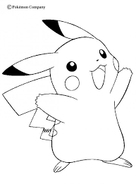 pokemon color sheets kids pokemon coloring pages print