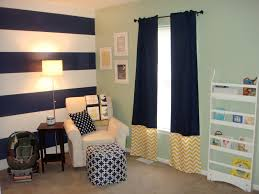 Pink And Navy Curtains I Want To Do A Navy White Striped Wall With 3 Yellow Walls Steve