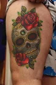 sugar skull tattoo top 20 sugar skull designs in the world