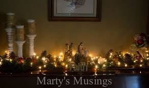 Images Of Mantels Decorated For Christmas Inexpensive Christmas Decor