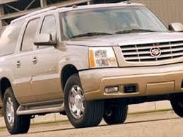 2003 cadillac escalade 2003 cadillac escalade esv suv test review truck trend