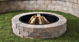 Stone Fire Pit Kit by How To Diy Fire Pit Construction Homeyou