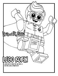 lego robin the lego batman movie u2013 draw it too