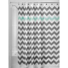 Navy And Coral Shower Curtain Grey Brown Shower Curtain Fabric Chevron Stripe Light Blue And