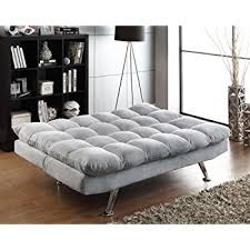 Amazon Com Sofas by Amazon Com Furniture Of America Ethel Leatherette Convertible