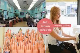 best nail salon la top mani los angeles