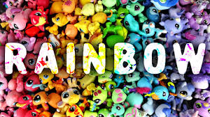 lps colors of the rainbow youtube