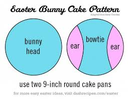 easter bunny cake the frugal female