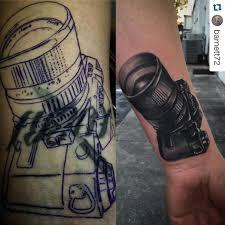 realistic 3d camera tattoo venice tattoo art designs