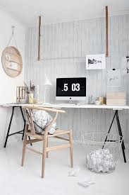 bureau stylé bureau style scandinave