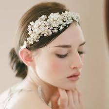 bridal headband delicate bridal headband hair accessories nyc handmade