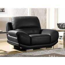 canapé et fauteuil en cuir fauteuil en cuir barcelona la maison du canapé pas cher à prix auchan