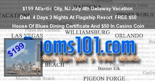 atlantic city nj july 4th getaway vacation deal 4 days 3 nights