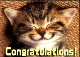Smiling Cat Meme - congratulations smiling cat facebook meme pinterest