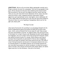 Editing And Proofreading Worksheets All Worksheets Proofreading Practice Worksheets Free Printable