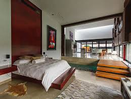 Open Space Bedroom Design An Unconventional Lakeside House In Yucatan Mexico Perfect For A