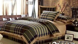 Buffalo Plaid Duvet Cover Incredible Top Quality Yarn Dyed 100 Cotton Man Plaid Duvet Cover Sheet Sets Intended For Plaid Duvet Covers King 585x329 Jpg