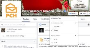 pch fan page facebook have you turned on your notifications for the pch fan page on