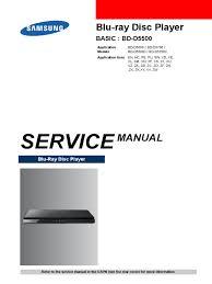 samsung bd d5500 pdf electrostatic discharge blu ray