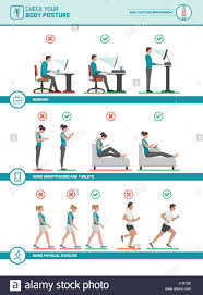 si e ergonomique körper ergonomie infografik verbessern sie ihre körperhaltung beim