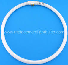 circular fluorescent light bulbs fc40t5 865 40w t5 6500k bright white daylight circular fluorescent
