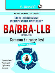 ggsipuba llb h bba llb h entrance exam guide 2018 edition