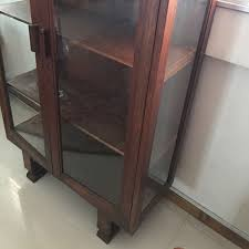 Display Cabinet Vintage Delivery Included Vintage U Leg Display Cabinet Vintage