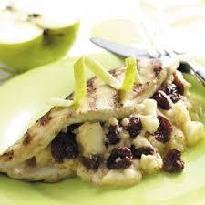 Chicken Main Dish - fontina fruit chicken recipe taste of home