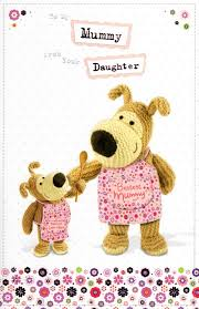 boofle to mummy from daughter mother u0027s day card cards love kates