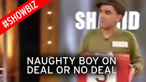 Deal Or No Deal Meme - watch naughty boy on deal or no deal before zayn malik